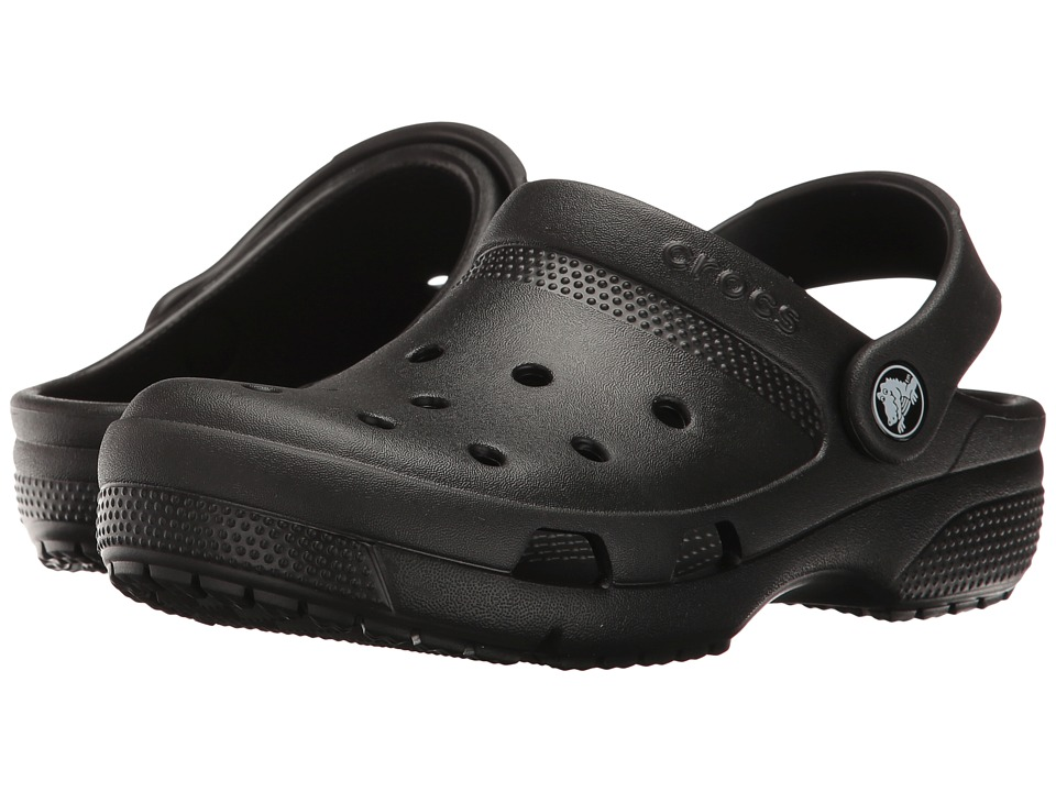 Crocs Kids - Coast Clog (Toddler/Little Kid) (Black) Kids Shoes