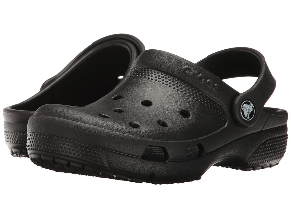 Crocs Kids - Coast Clog (Toddler/Little Kid) (Black) Kids Shoes