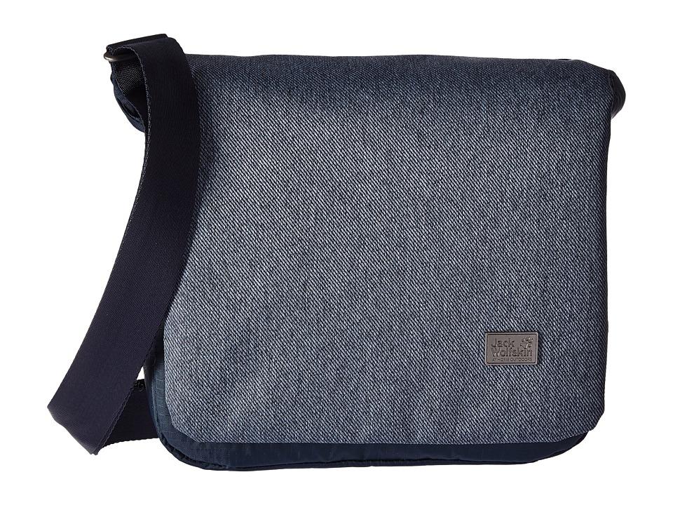 Jack Wolfskin - Wool Tech Sling Bag (Dark Sky) Bags