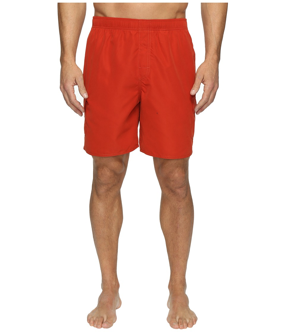 Quiksilver Waterman - Balance 6 Volley Shorts (Red Ochre) Men's Shorts
