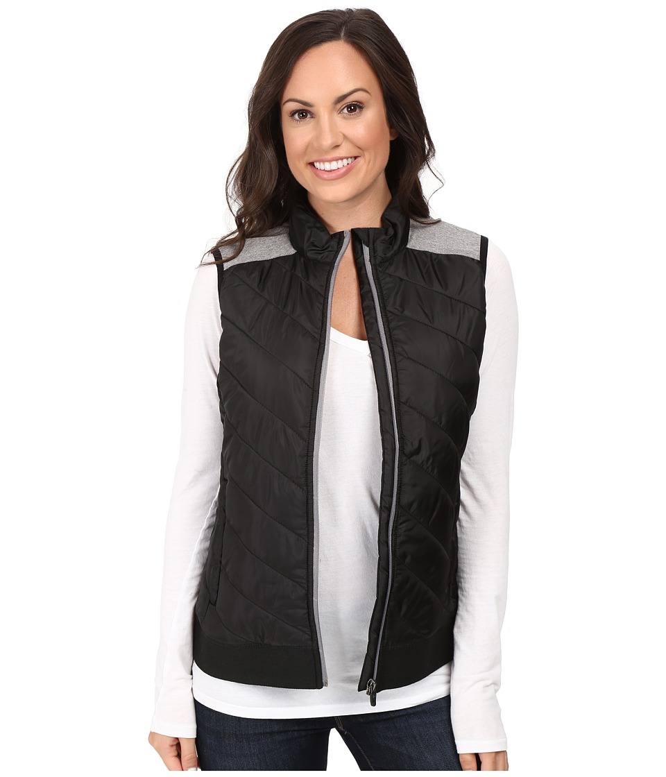 Cinch - Quilted Polyfill with Knit Back (Black) Women's Clothing