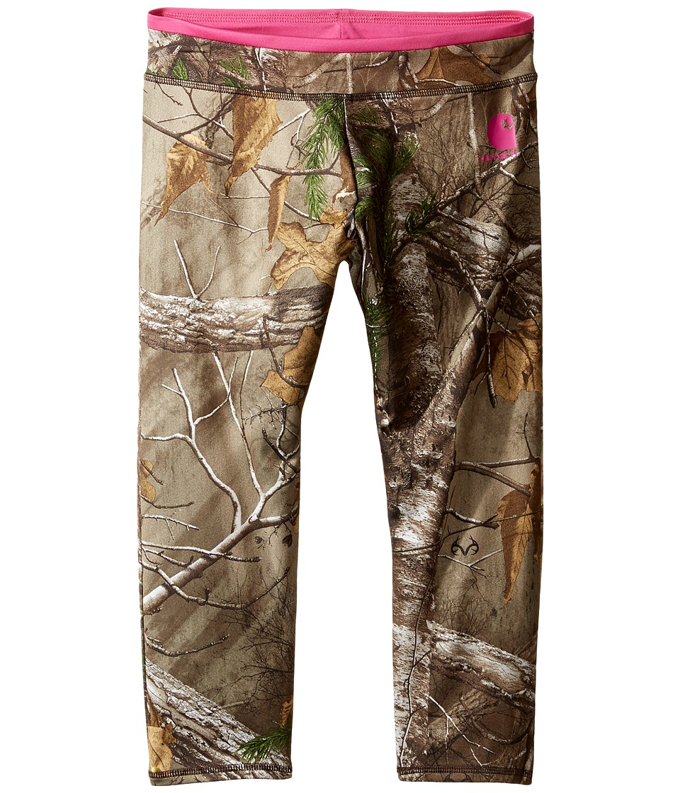 Carhartt Kids - Camo Capri Leggings (Little Kids/Big Kids) (Realtree Xtra Camo) Girl's Casual Pants