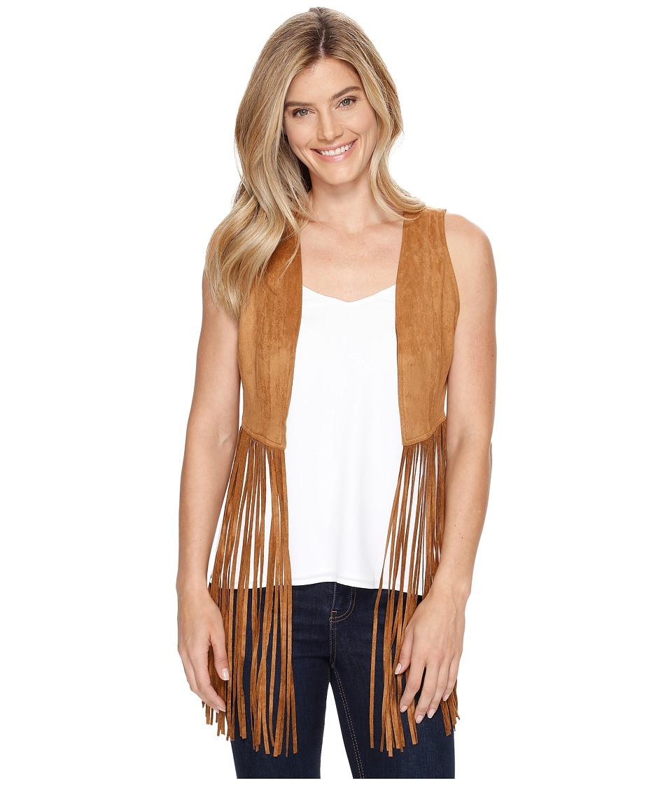 Stetson - 0883 Faux Suede Vest (Brown) Women's Vest