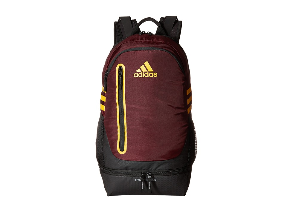 adidas - Pivot Team Backpack (Maroon/Collegiate Gold) Backpack Bags