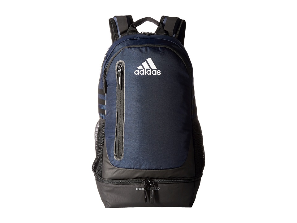 adidas - Pivot Team Backpack (Collegiate Navy/Grey/Neo White) Backpack Bags