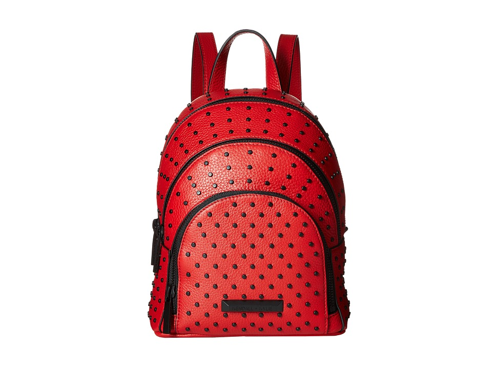 KENDALL + KYLIE - Sloane Mini Studded Backpack (Ruby Red) Backpack Bags