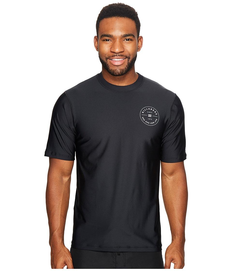 Billabong Rotor Loose Fit Short Sleeve (Black) Men