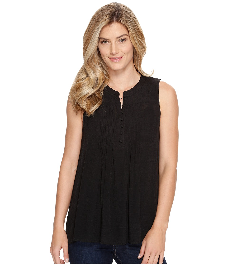 Stetson - 0882 Sleeveless Blouse (Black) Women's Blouse