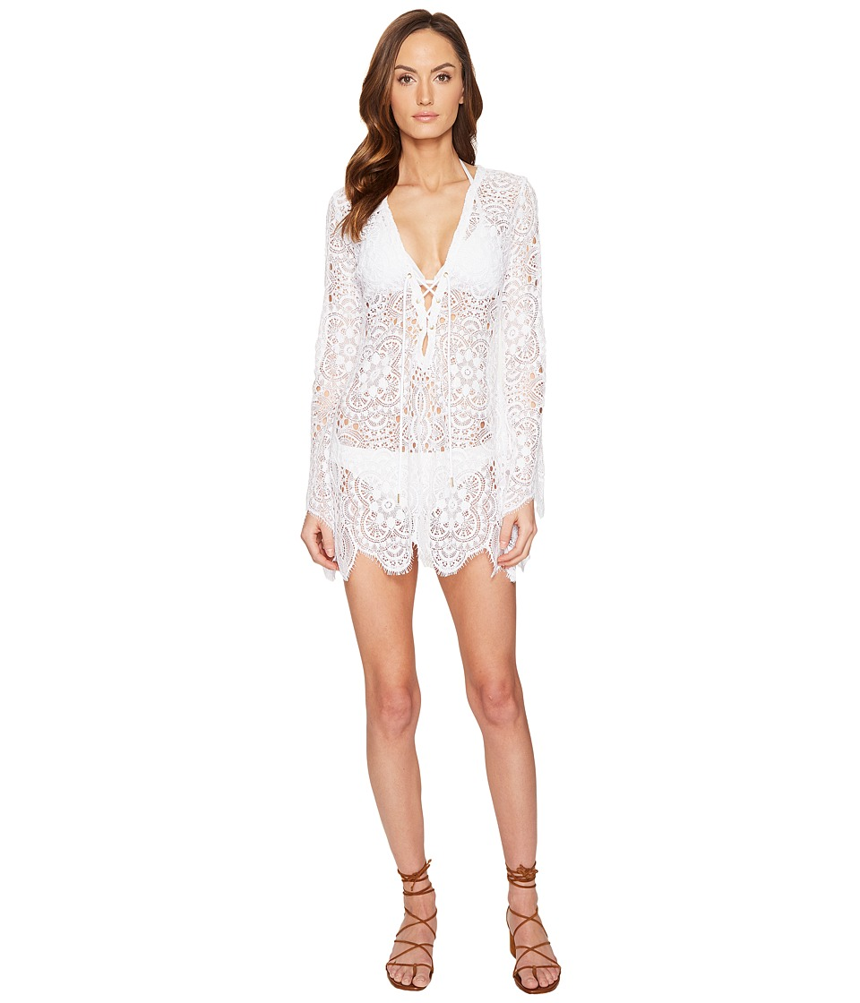 L'Agent by Agent Provocateur - Aaliyah Tunic (White) Women's Swimwear