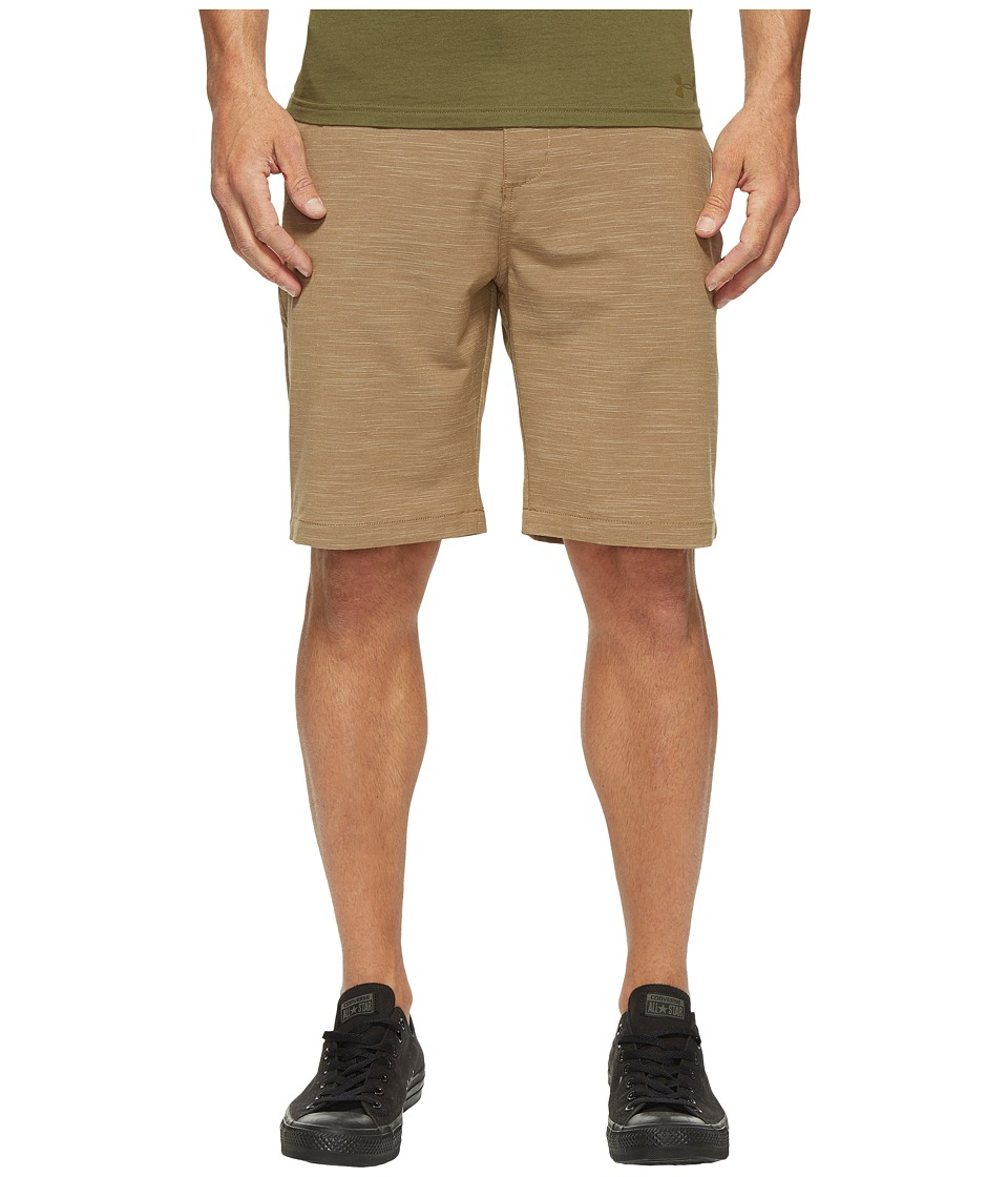 Billabong Crossfire X Slub Walkshorts (Dark Khaki) Men