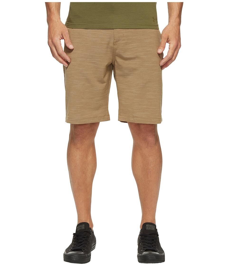 Billabong - Crossfire X Slub Walkshorts (Dark Khaki) Men's Shorts