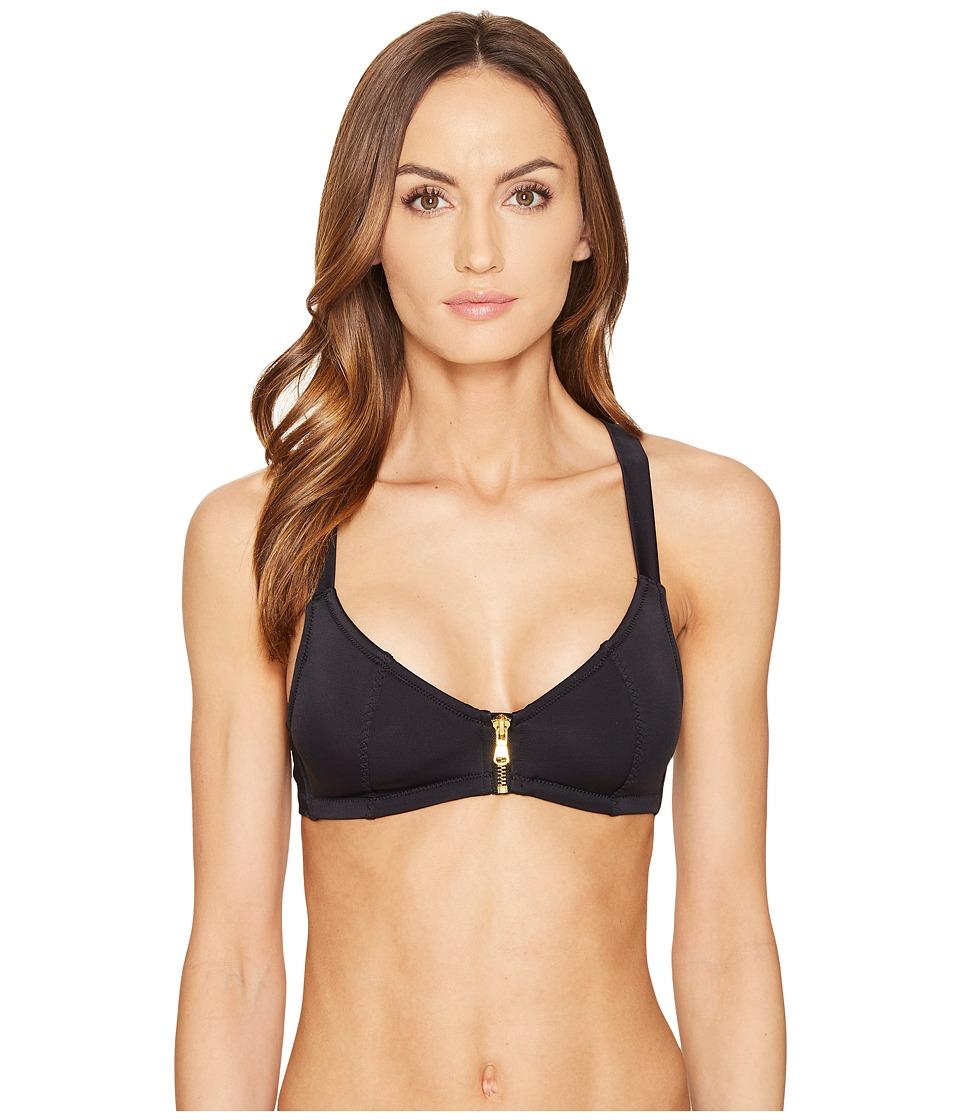 L'Agent by Agent Provocateur - Hailiey Bikini Top (Black) Women's Swimwear
