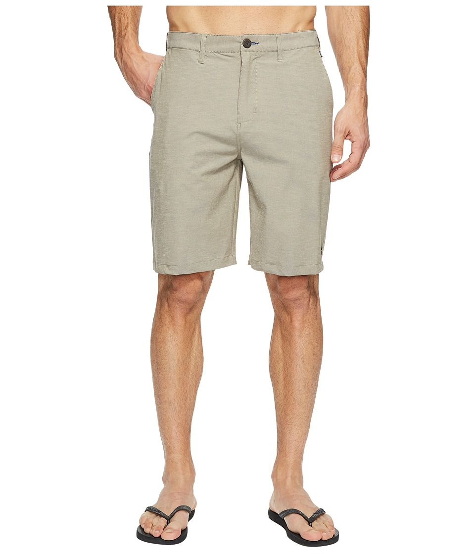 Billabong - Crossfire X Twill Walkshorts (Light Khaki Heather) Men's Shorts