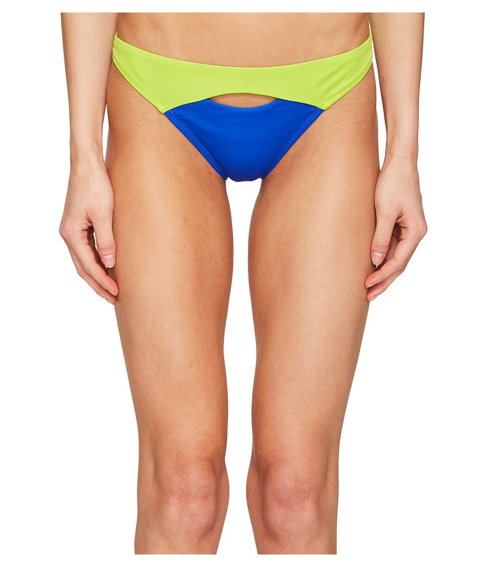 L'Agent by Agent Provocateur - Alenya Bikini Bottom (Blue/Green) Women's Swimwear