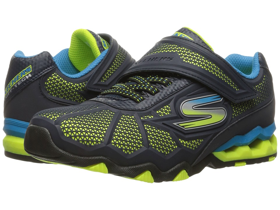 SKECHERS KIDS - Hydro - Static 97431L (Little Kid/Big Kid) (Navy/Blue) Boy's Shoes