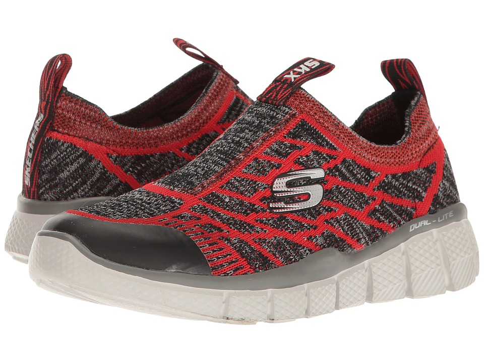 SKECHERS KIDS - Equalizer 2.0 97376L (Little Kid/Big Kid) (Red/Charcoal) Boy's Shoes