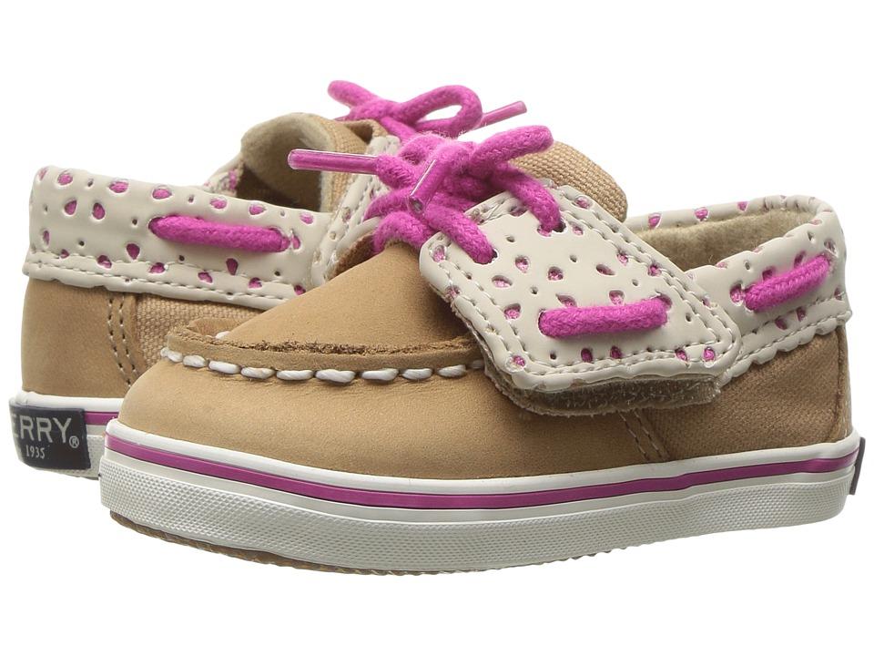 Sperry Top-Sider Kids - Intrepid Crib Jr. (Infant/Toddler) (Linen/Fuchsia) Girl's Shoes