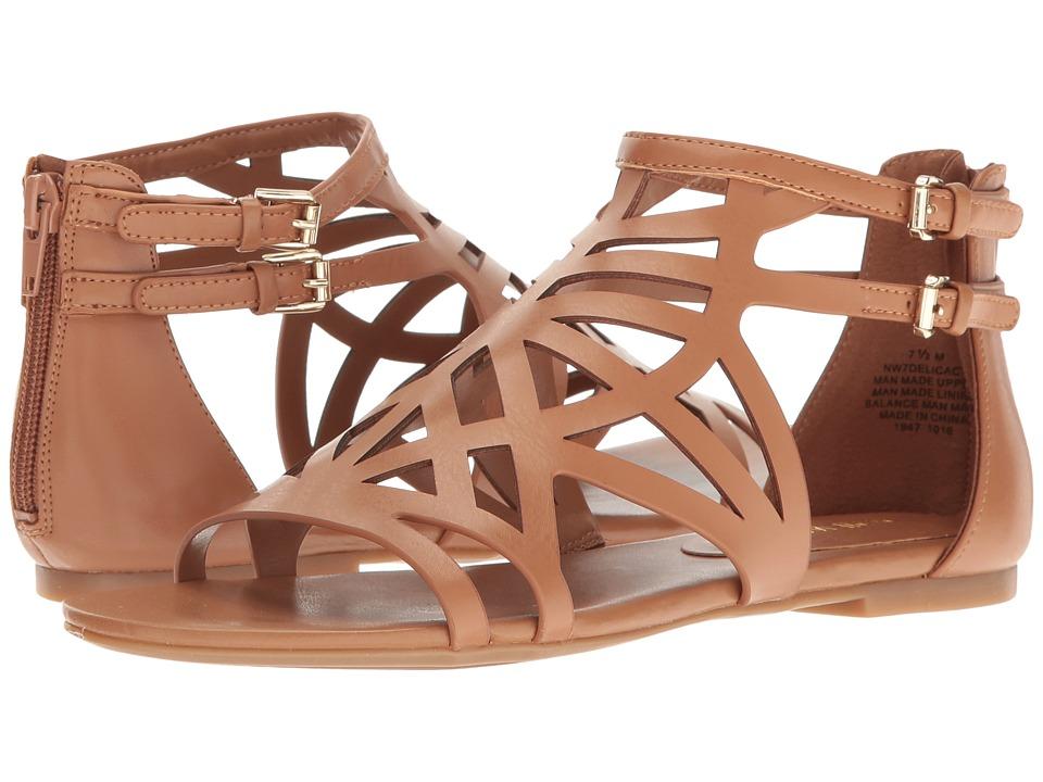 Nine West - Delicacy (Dark Caramel) Women's Sandals