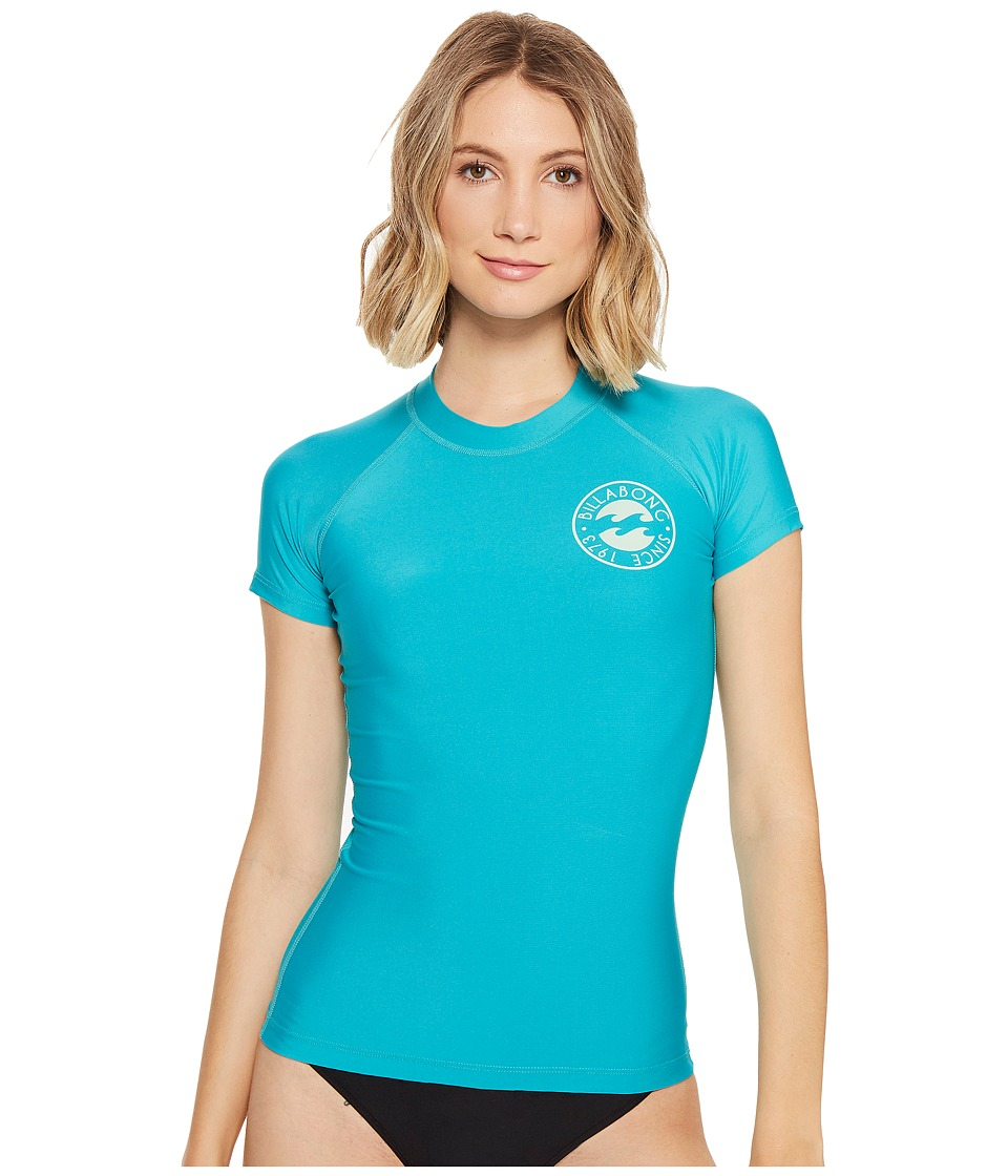 Billabong Core Performance Fit Short Sleeve (Aruba) Women