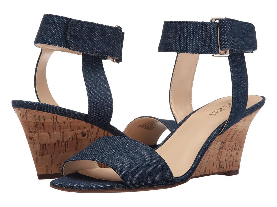 Nine West - Riley (Blue) Women's Shoes