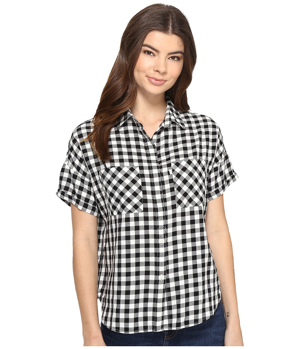 Levi's(r) Womens - Short Sleeve Holly Shirt (Vihuela Custom Black) Women's Clothing