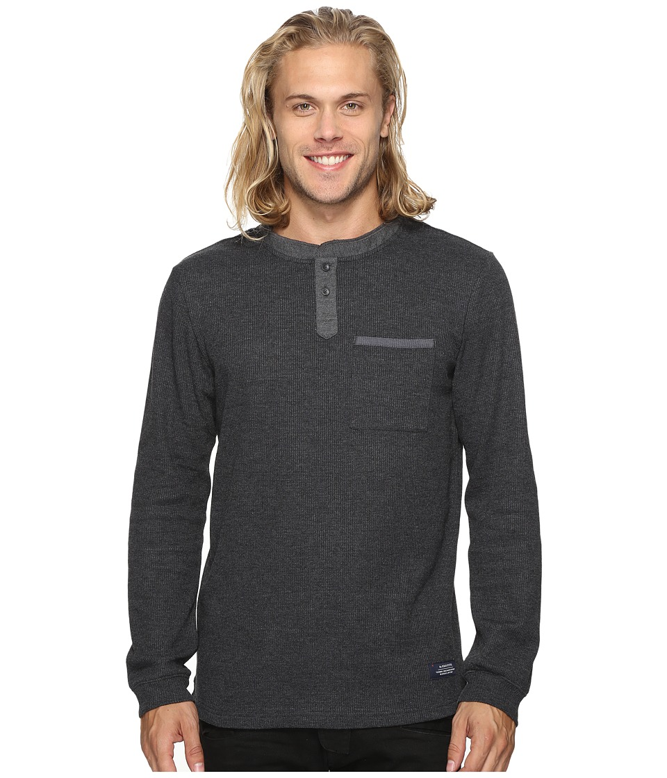 Roark - Dog Hair Long Sleeve Knit (Charcoal) Men's Clothing