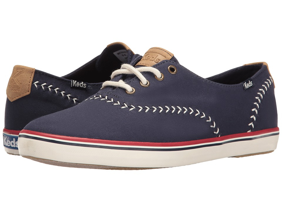 Keds - Champion Pennant (Peacoat Navy) Women's Lace up casual Shoes