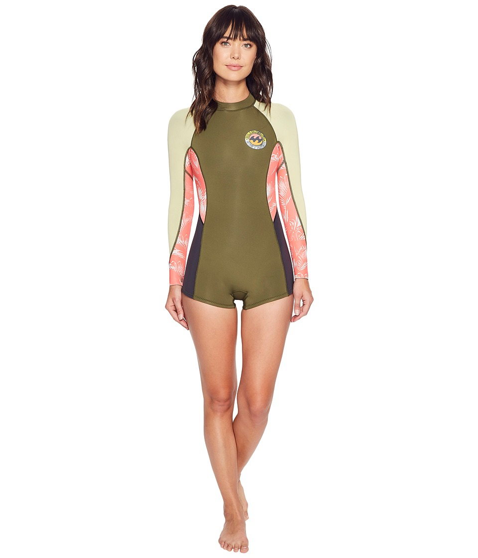 Billabong - Spring Fever (Multi) Women's Wetsuits One Piece