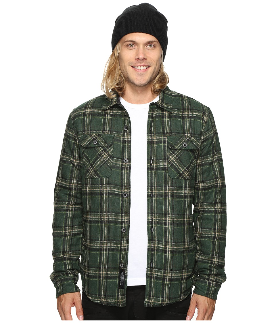 Roark - Chief Flannel By Jamie Thomas (Green) Men's Coat