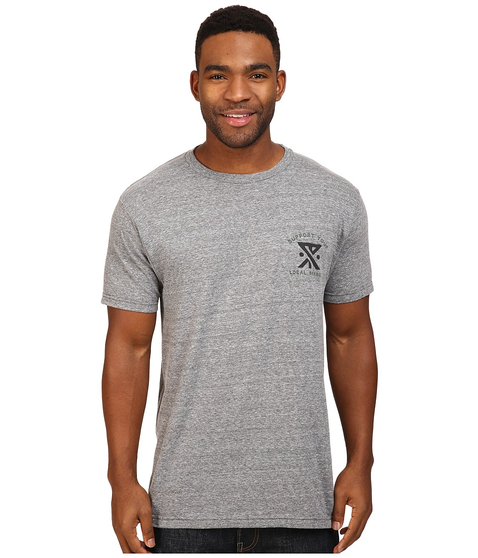 Roark - Support Your Local Savages Tee (Heather Grey) Men's T Shirt