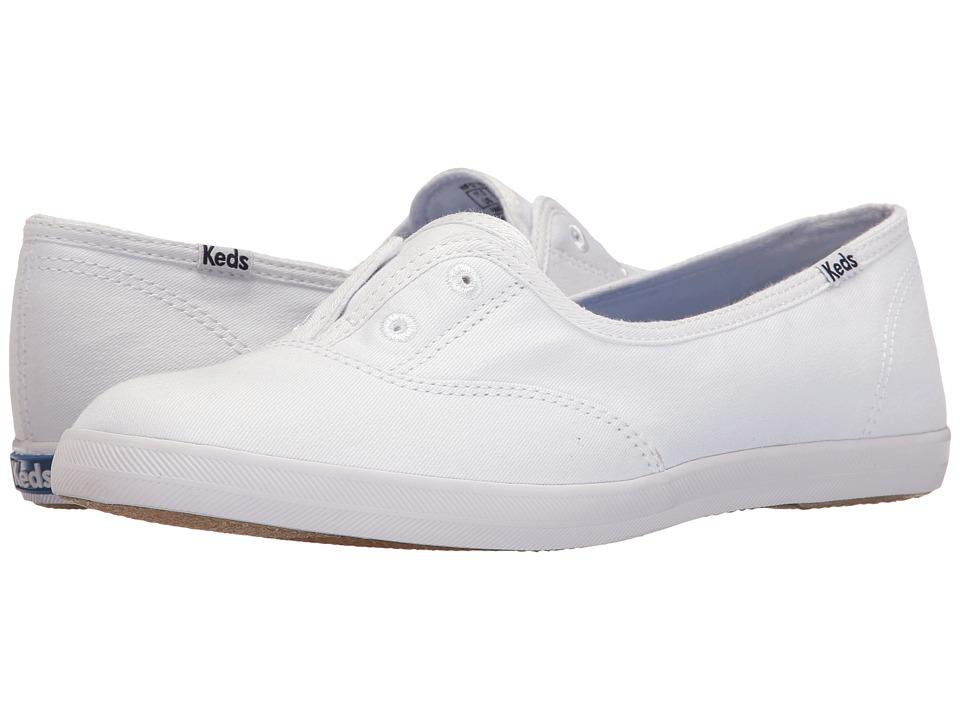 Keds Chillax Mini Seasonal Solid (White) Women