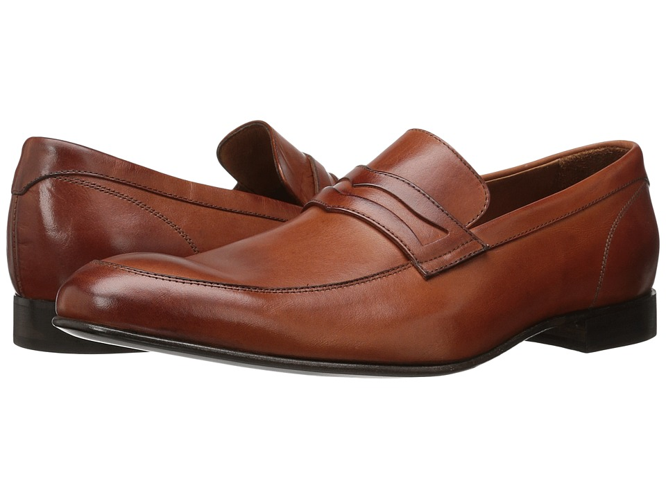 Massimo Matteo - Mocc Toe Penny 16 (Cuoio) Men's Slip on Shoes
