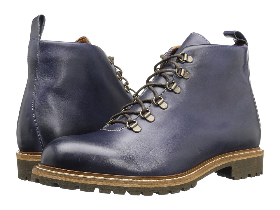 Massimo Matteo - Alpine Boot (Blue) Men's Lace-up Boots