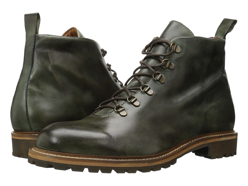 Massimo Matteo - Alpine Boot (Military Green) Men's Lace-up Boots