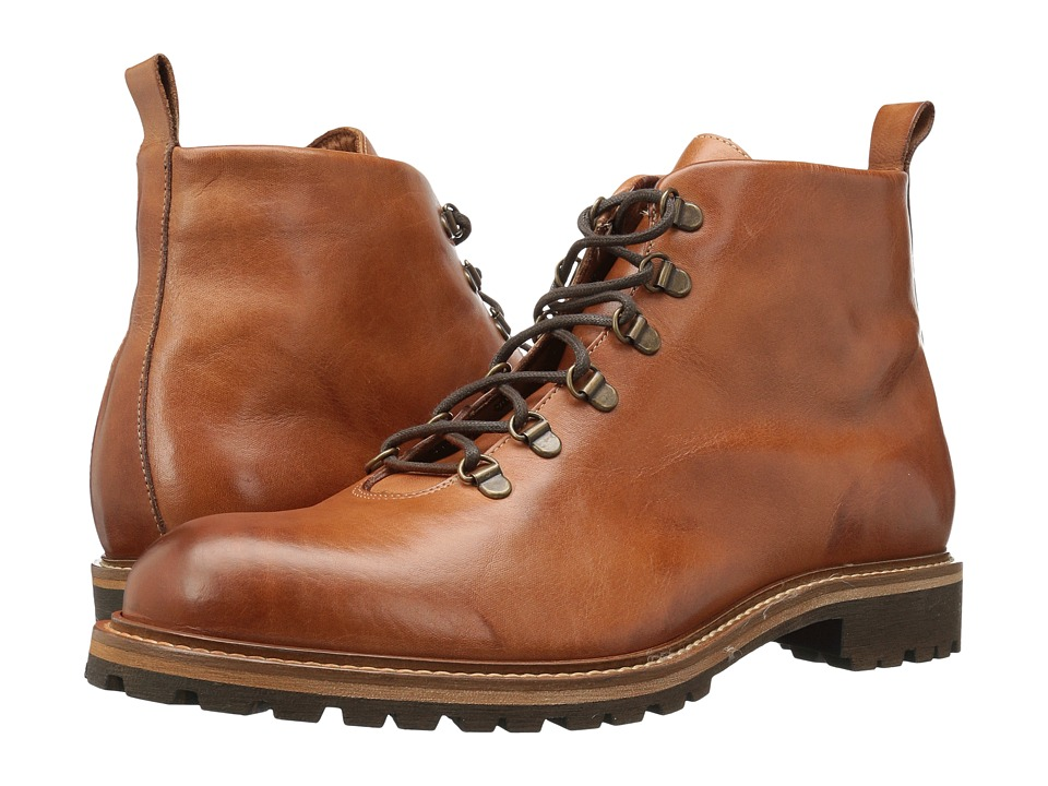 Massimo Matteo - Alpine Boot (Brandy) Men's Lace-up Boots