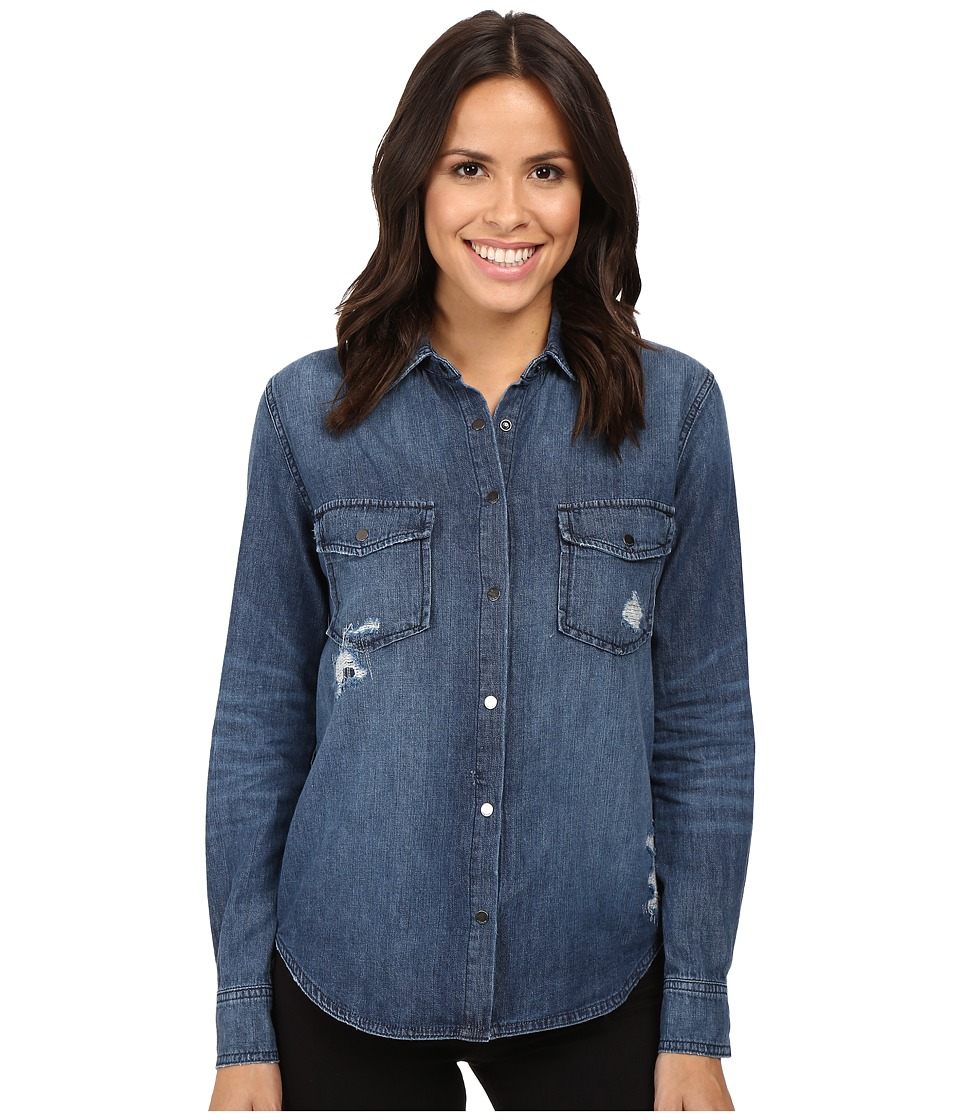 Joe's Jeans - Sloane Shirt (Indigo) Women's Clothing