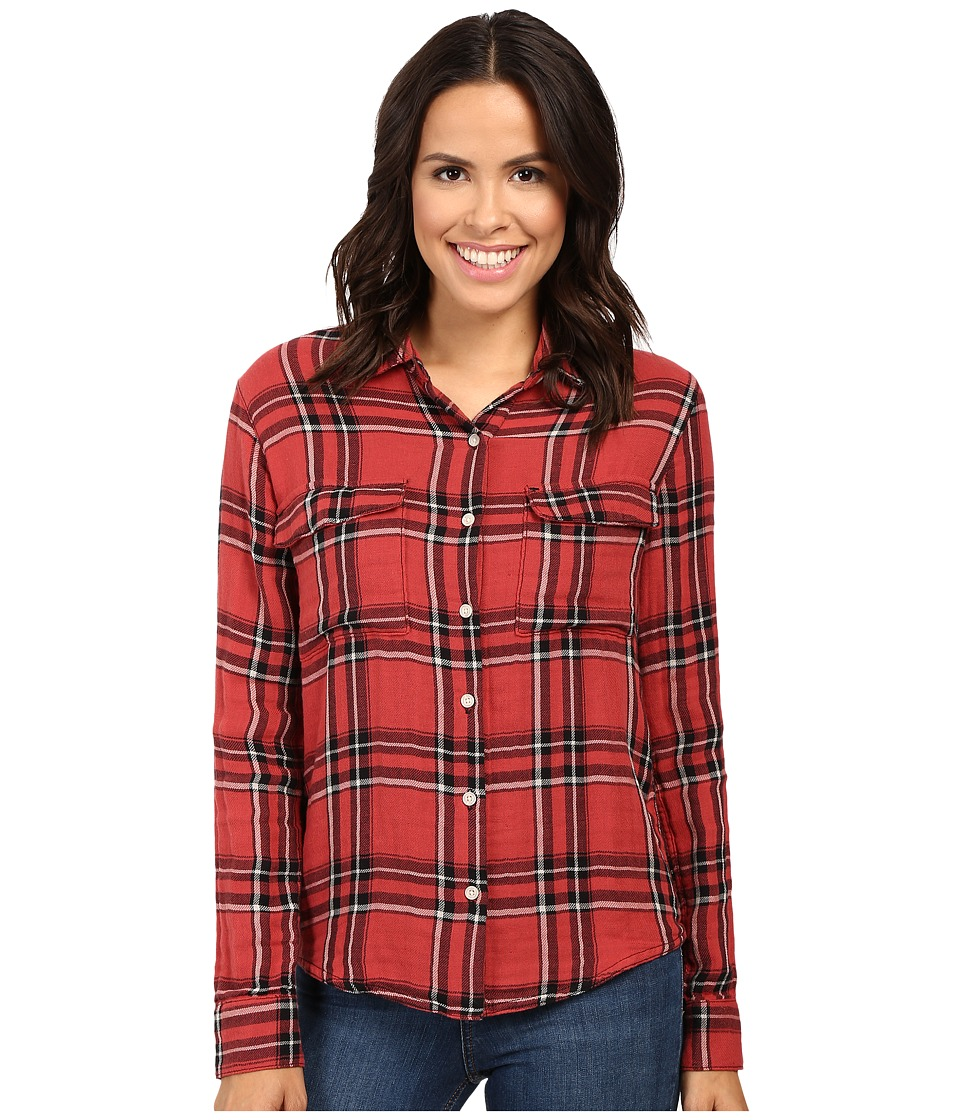 Joe's Jeans - Thatcher Shirt (Onxy/Ruby) Women's Clothing