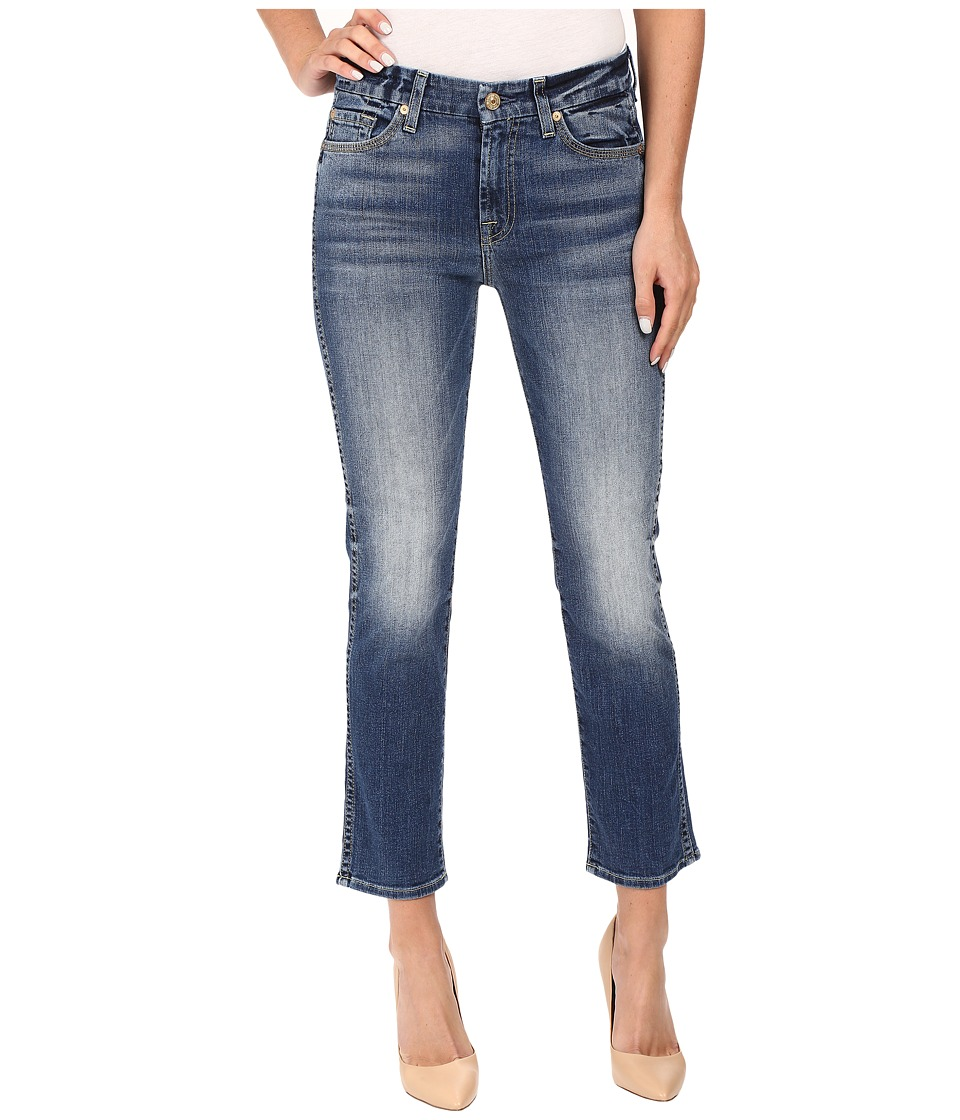 7 For All Mankind - The Ankle Straight in Abbey Road (Abbey Road) Women's Jeans