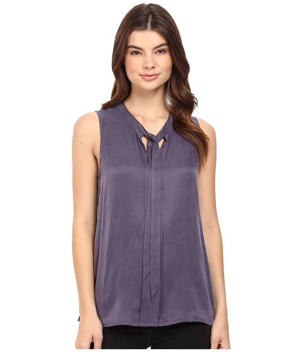 Splendid - Washed Cupro Sleeveless Necktie Top (Dusty Plum) Women's Sleeveless