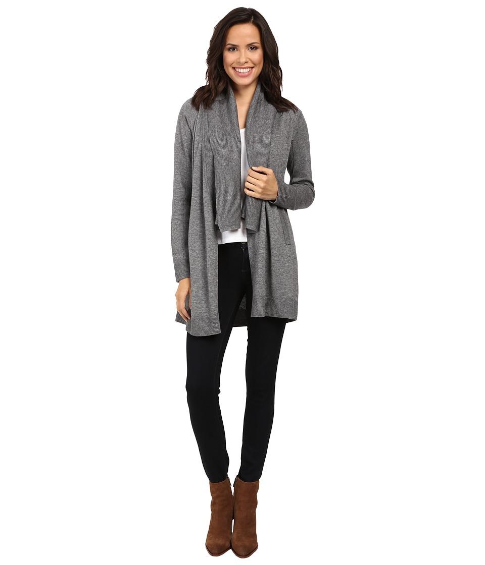 Splendid - Sutton Cardigan (Heather Cinder) Women's Sweater