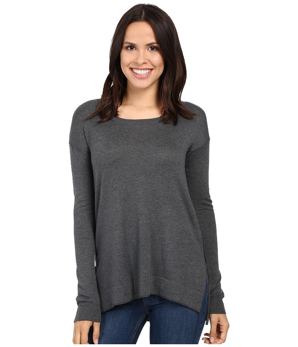 Splendid - Logan Pullover Sweater (Heathered Gravel) Women's Sweater