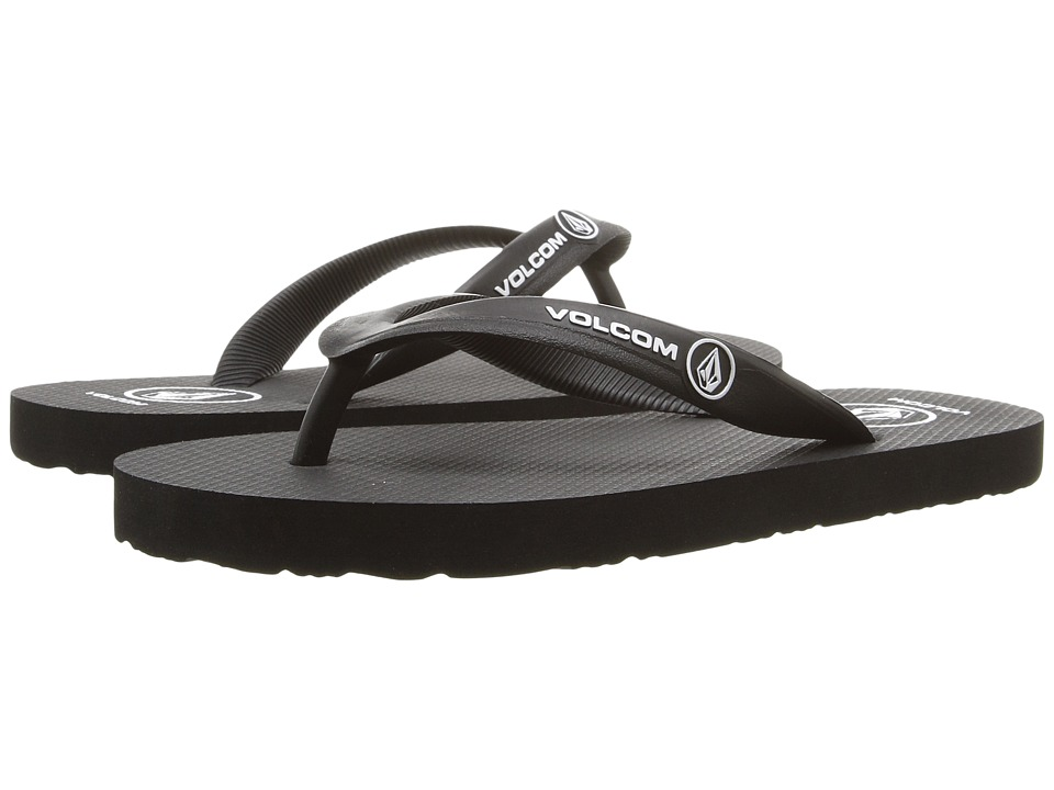 Volcom Kids - Rocker Sandal (Little Kid/Big Kid) (Black) Boys Shoes
