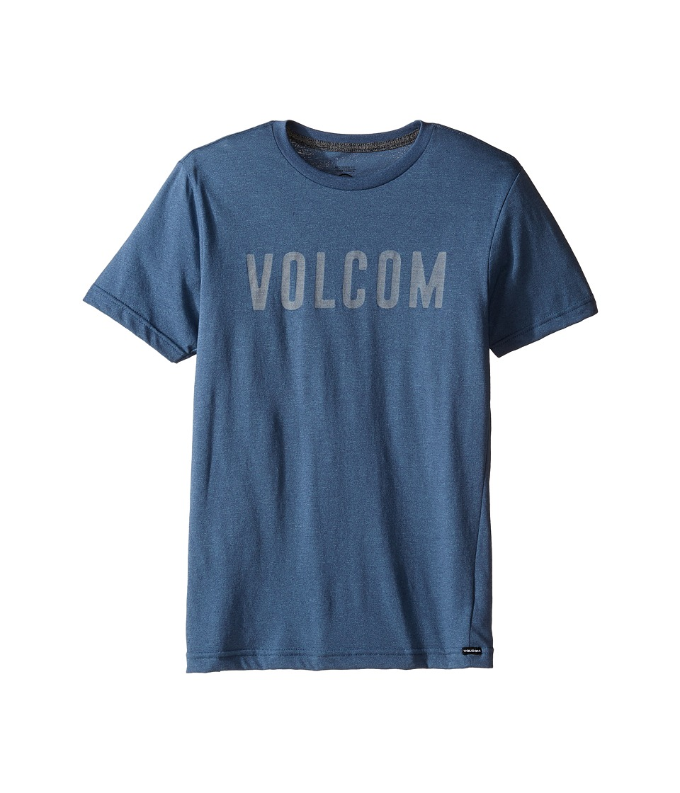 Volcom Kids - Trucky Short Sleeve Tee (Big Kids) (Blue Plum) Boy's T Shirt