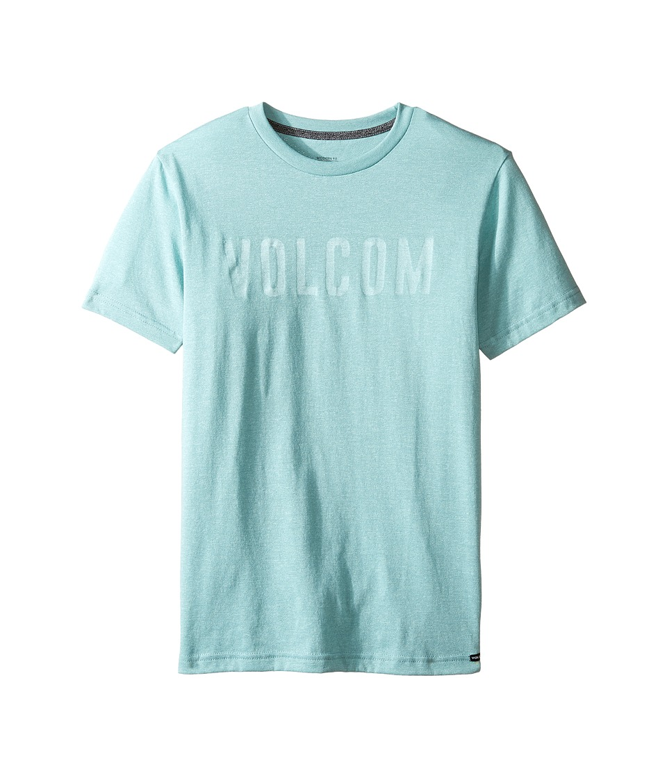 Volcom Kids - Trucky Short Sleeve Tee (Big Kids) (Sea Blue) Boy's T Shirt