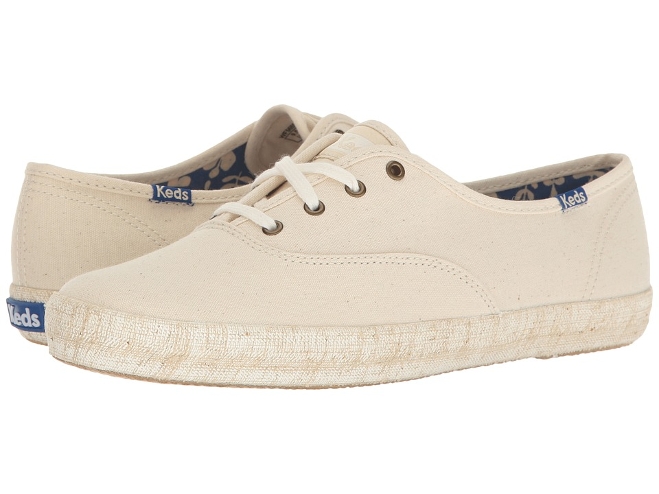 Keds Champion Burlap Foxing (Natural) Women
