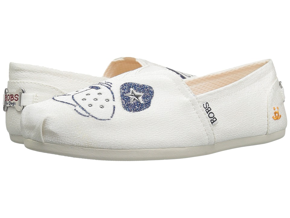 BOBS from SKECHERS Bobs Plush See Spot Run (White) Women