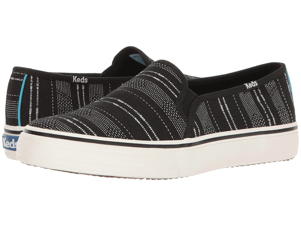 Keds Double Decker Baja Stripe (Black) Women
