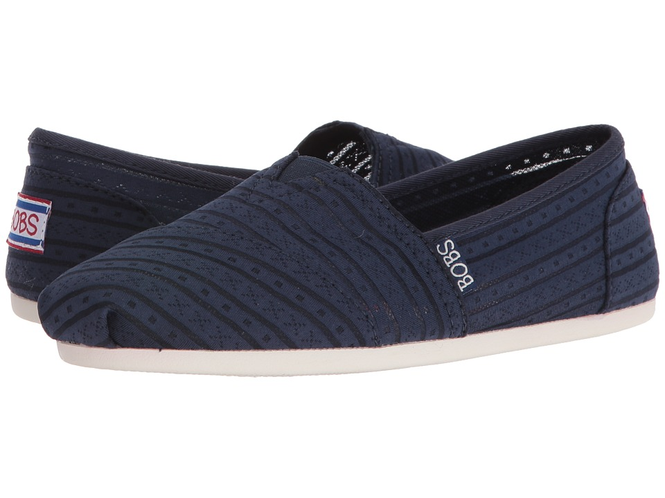 BOBS from SKECHERS Bobs Plush (Navy) Women