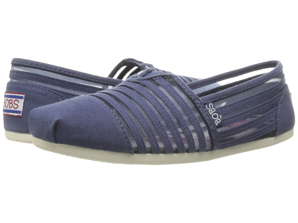BOBS from SKECHERS - Bobs Plush (Navy 1) Women's Shoes