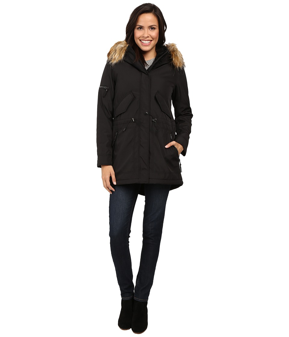S13 - Canyon Parka (Black) Women's Coat